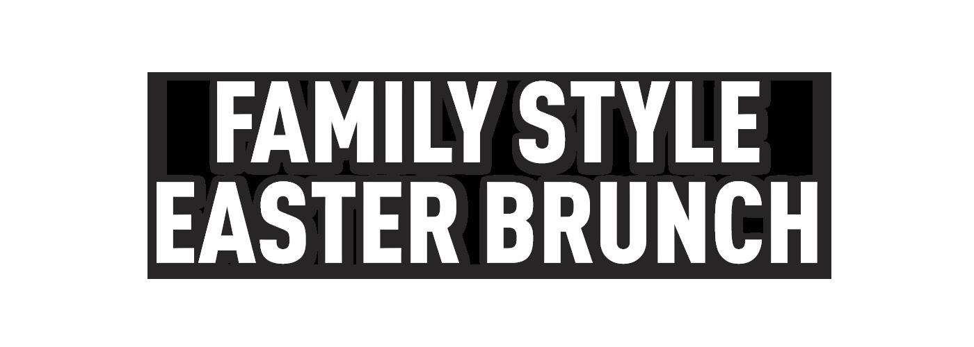 Family Style Easter Brunch | Bellingham, WA